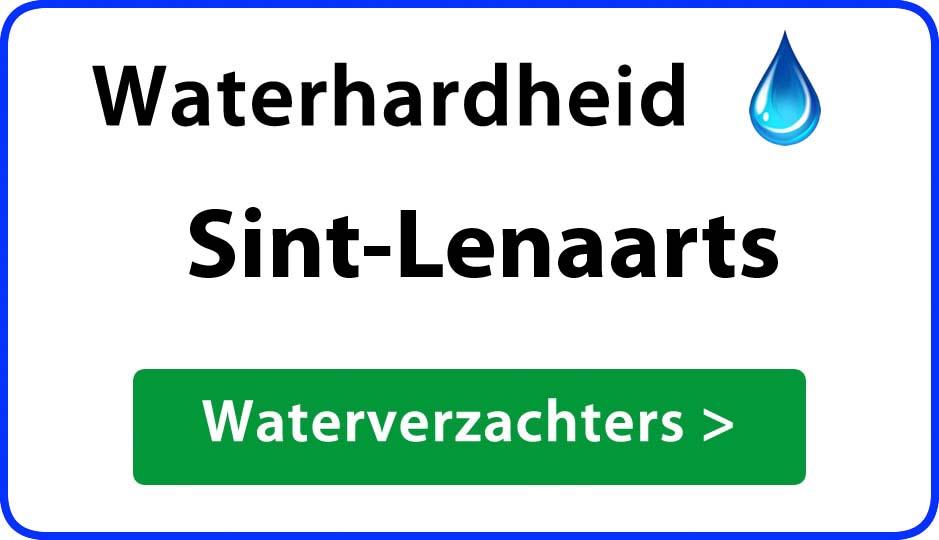 waterhardheid sint-lenaarts waterverzachter