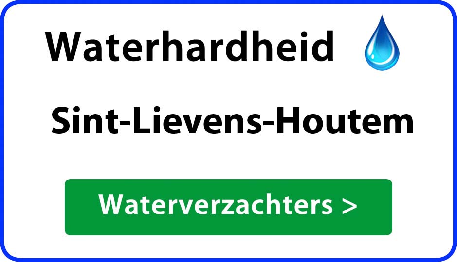 waterhardheid sint-lievens-houtem waterverzachter