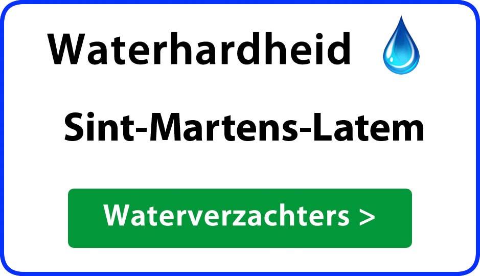 waterhardheid sint-martens-latem waterverzachter