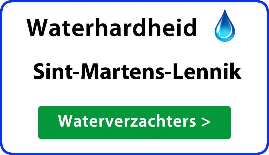 waterhardheid sint-martens-lennik waterverzachter