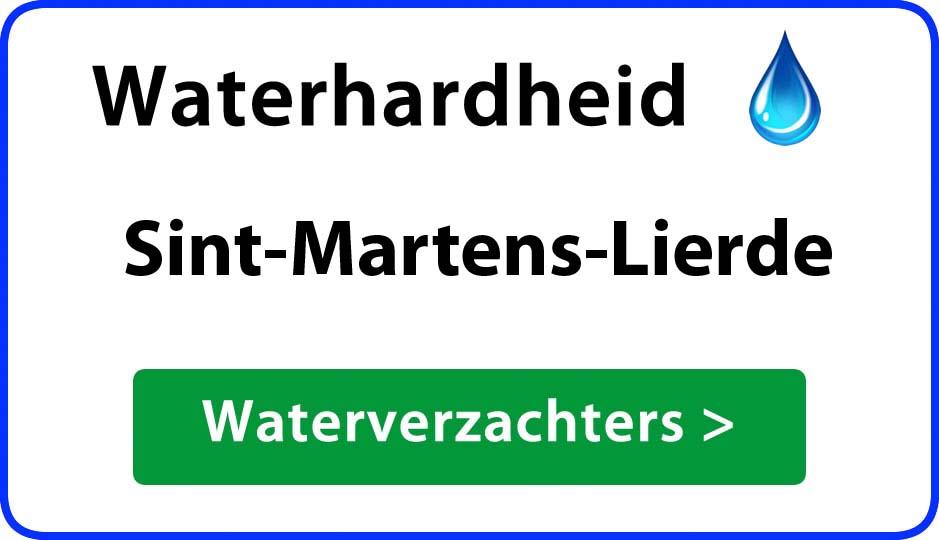 waterhardheid sint-martens-lierde waterverzachter
