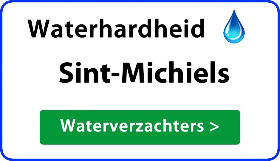 waterhardheid sint-michiels waterverzachter