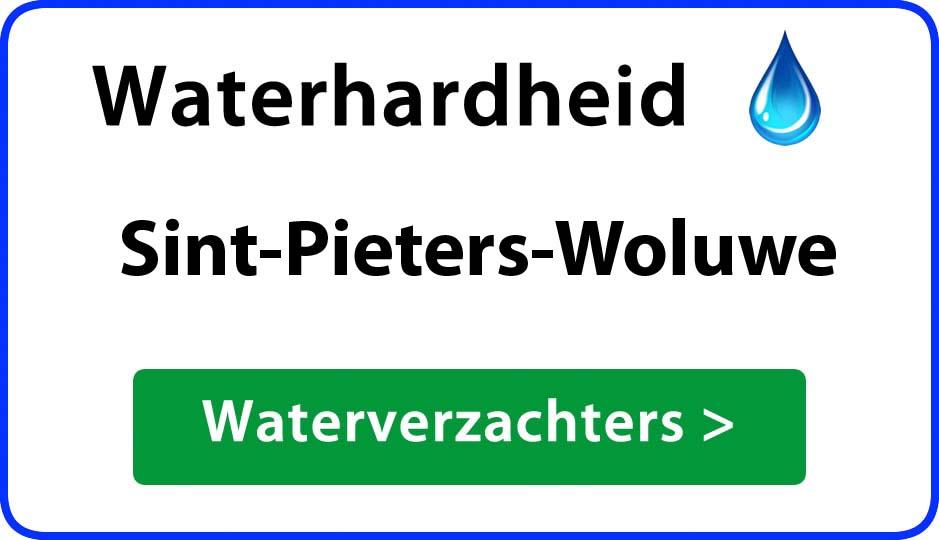 waterhardheid sint-pieters-woluwe waterverzachter