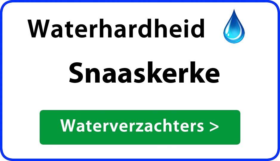 waterhardheid snaaskerke waterverzachter