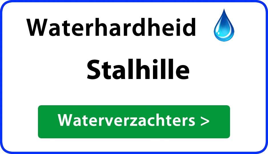 waterhardheid stalhille waterverzachter