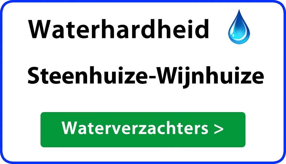 waterhardheid steenhuize-wijnhuize waterverzachter