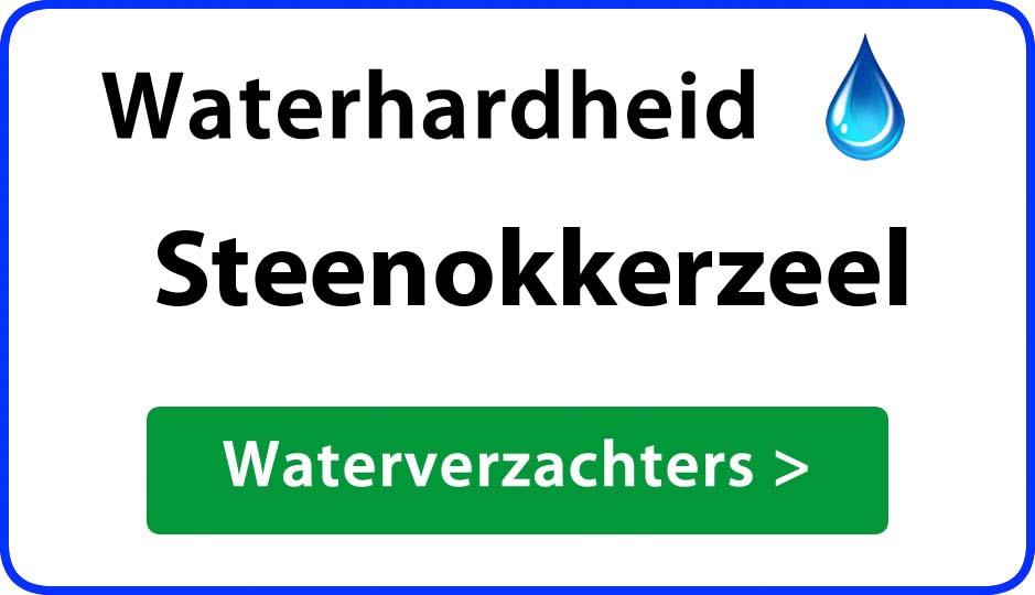 waterhardheid steenokkerzeel waterverzachter