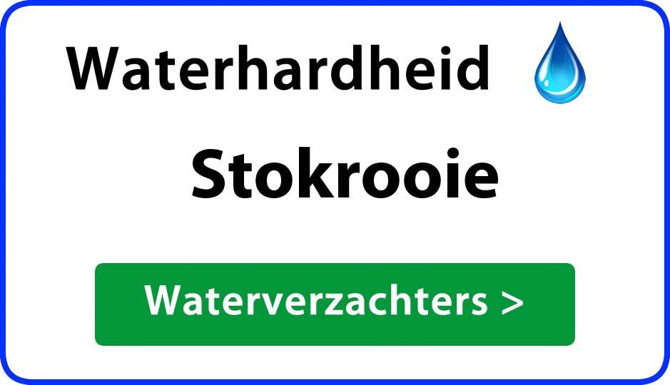 waterhardheid stokrooie waterverzachter