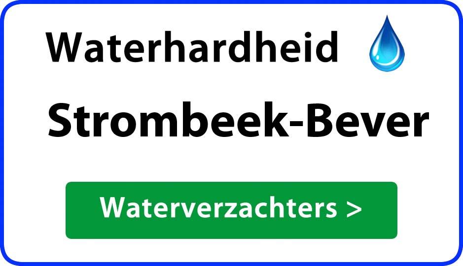 waterhardheid strombeek-bever waterverzachter