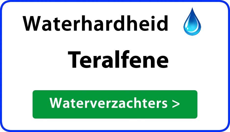 waterhardheid teralfene waterverzachter