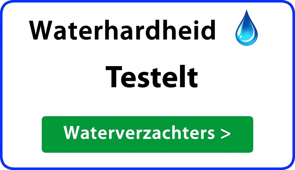waterhardheid testelt waterverzachter