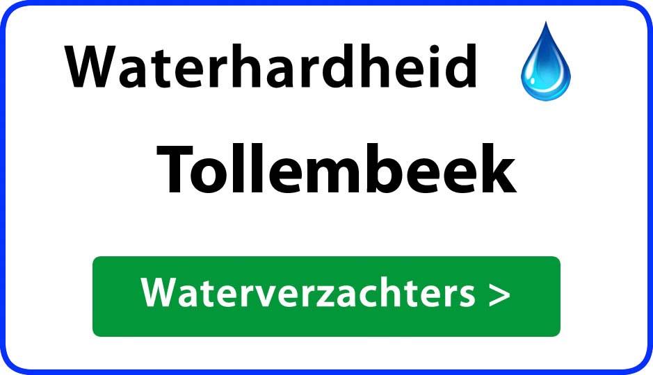 waterhardheid tollembeek waterverzachter