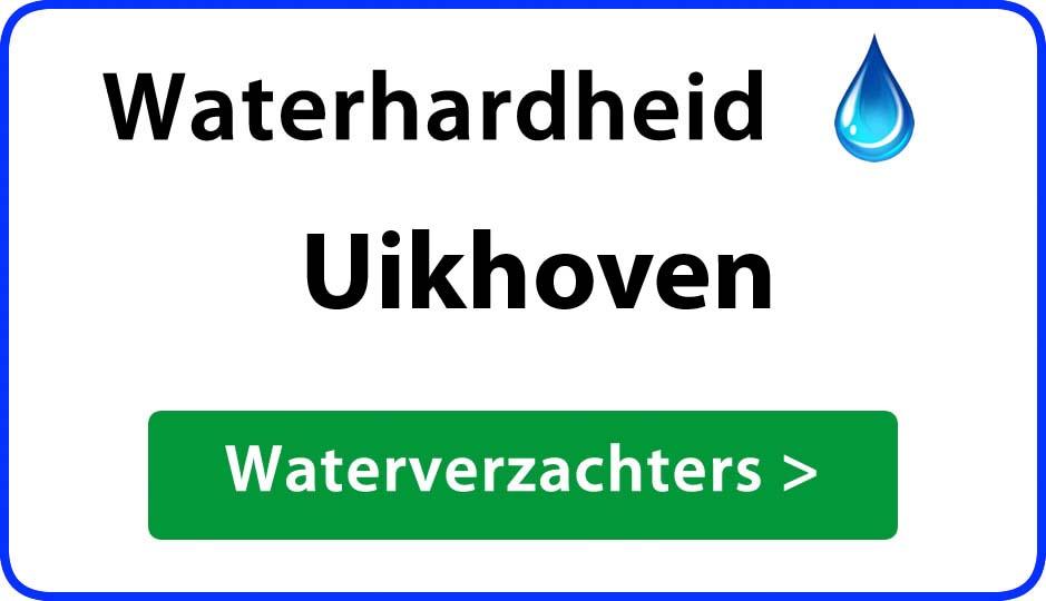 waterhardheid uikhoven waterverzachter