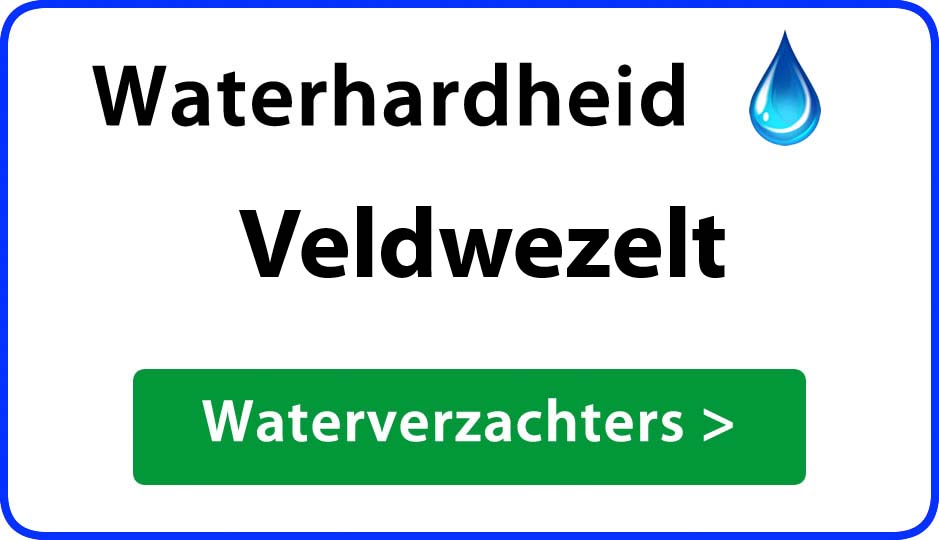 waterhardheid veldwezelt waterverzachter