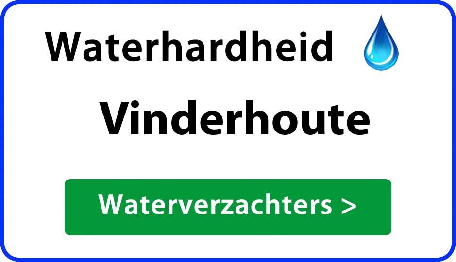 waterhardheid vinderhoute waterverzachter