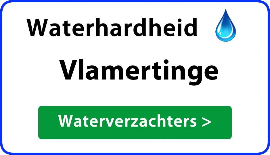 waterhardheid vlamertinge waterverzachter