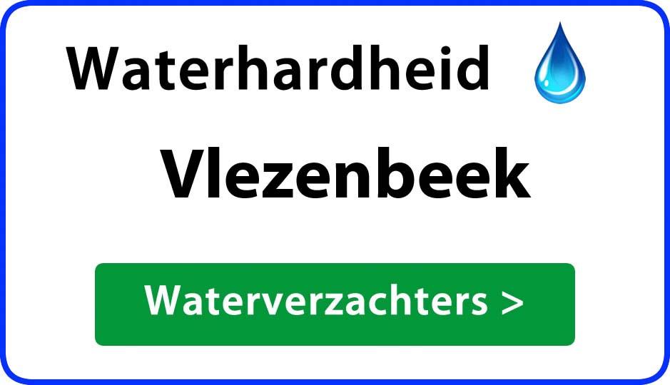waterhardheid vlezenbeek waterverzachter