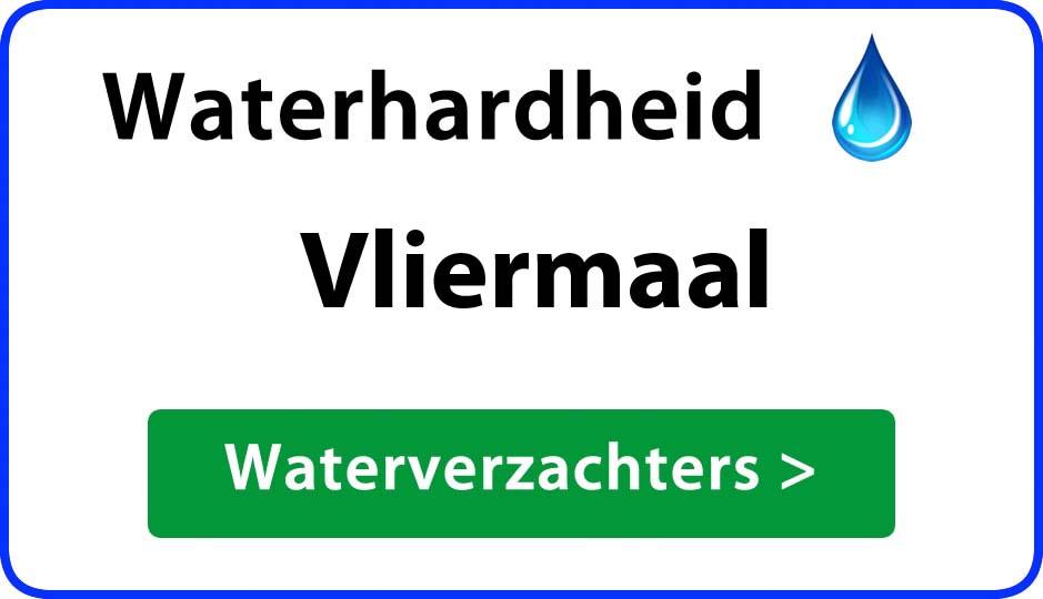 waterhardheid vliermaal waterverzachter