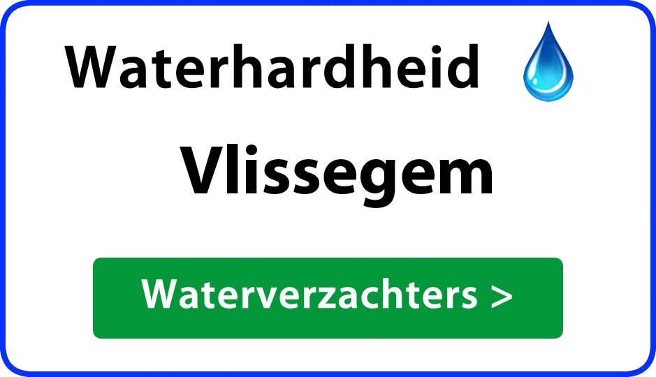 waterhardheid vlissegem waterverzachter