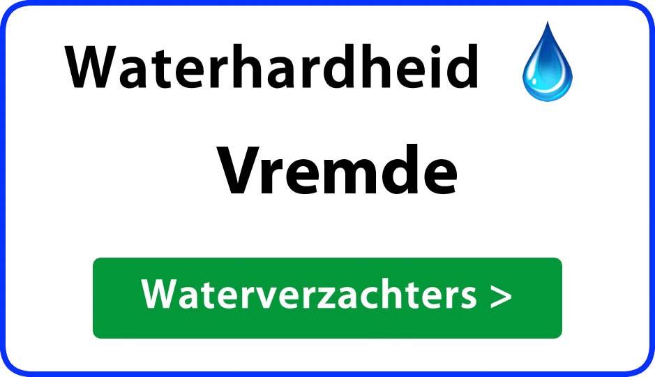 waterhardheid vremde waterverzachter