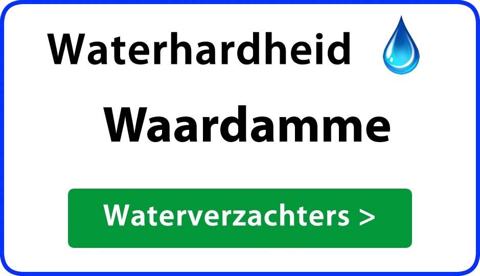 waterhardheid waardamme waterverzachter