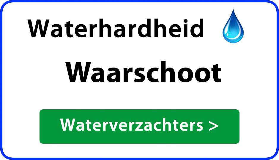 waterhardheid waarschoot waterverzachter