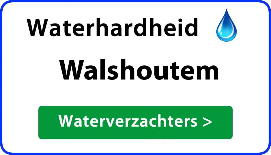 waterhardheid walshoutem waterverzachter
