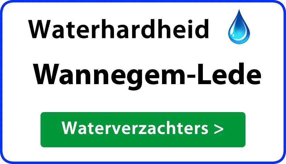 waterhardheid wannegem-lede waterverzachter