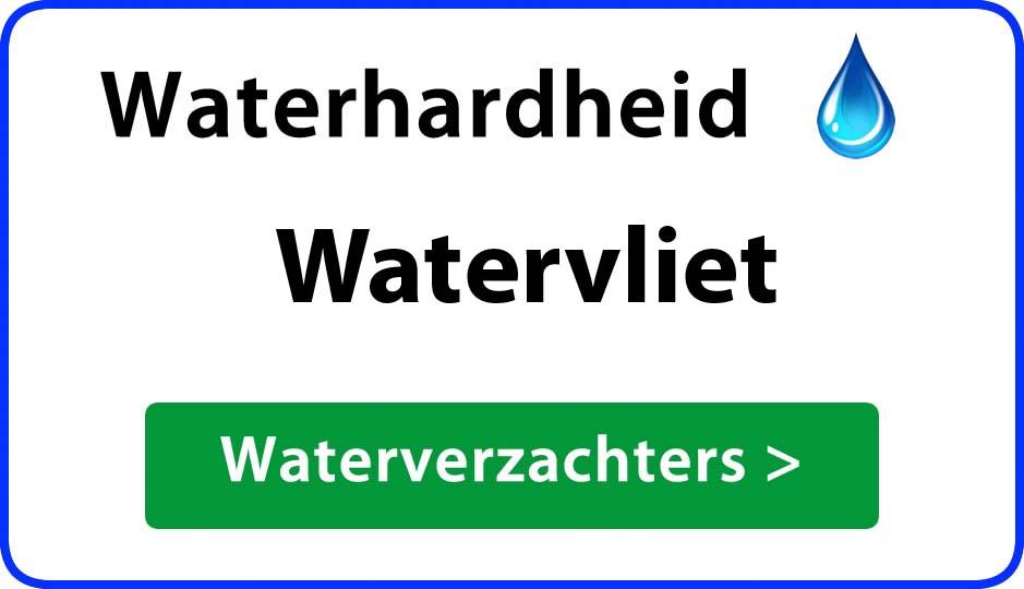 waterhardheid watervliet waterverzachter
