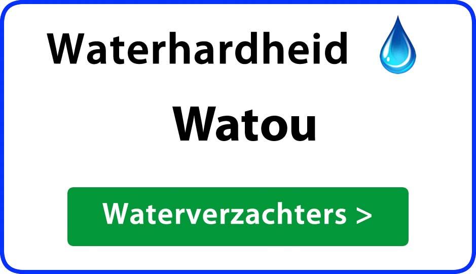 waterhardheid watou waterverzachter