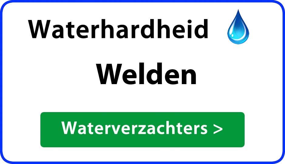 waterhardheid welden waterverzachter