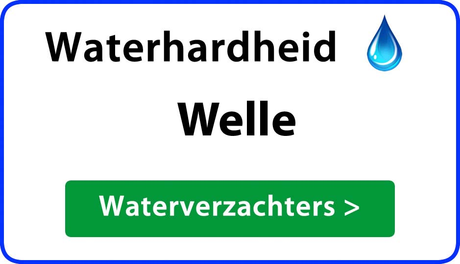 waterhardheid welle waterverzachter