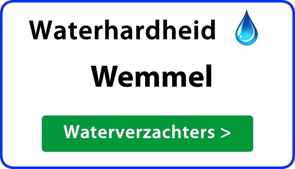 waterhardheid wemmel waterverzachter