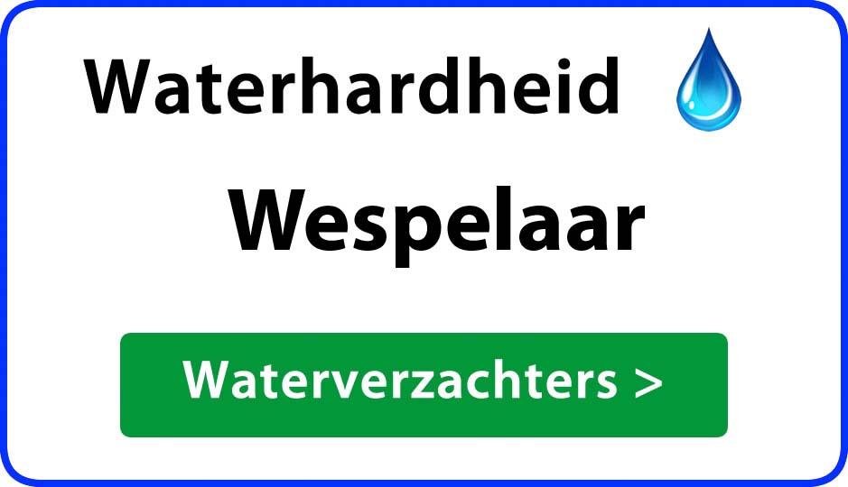 waterhardheid wespelaar waterverzachter