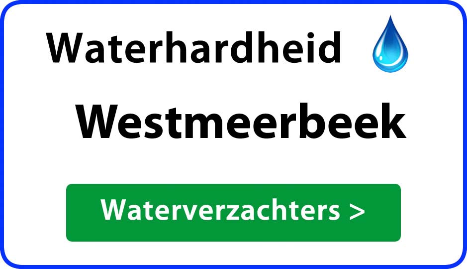 waterhardheid westmeerbeek waterverzachter