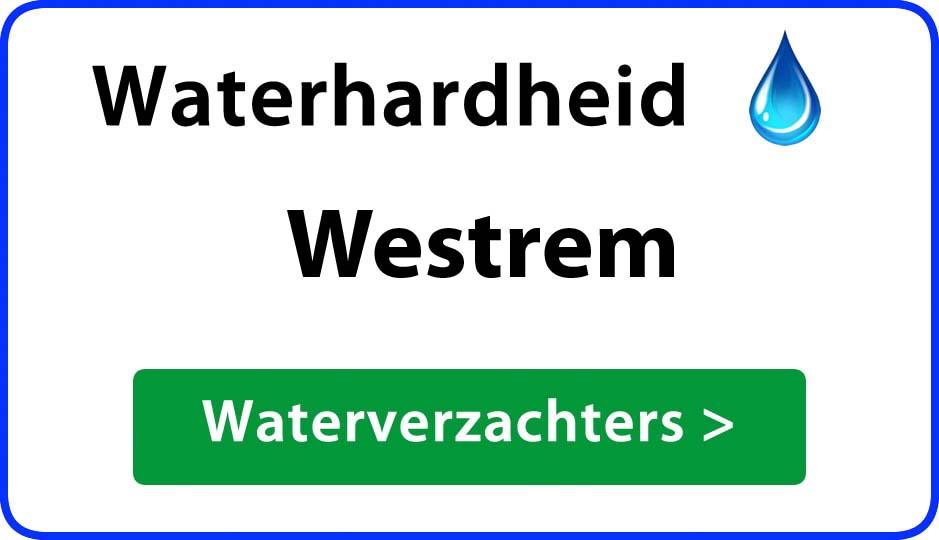 waterhardheid westrem waterverzachter