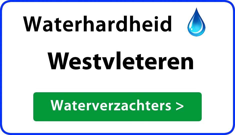 waterhardheid westvleteren waterverzachter