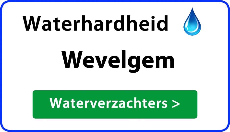 waterhardheid wevelgem waterverzachter