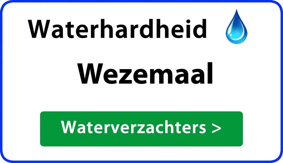 waterhardheid wezemaal waterverzachter