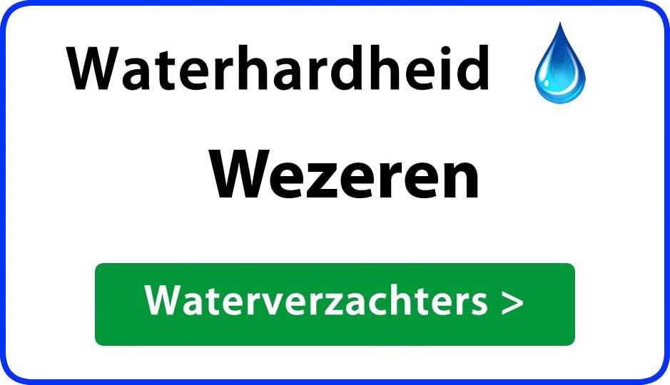 waterhardheid wezeren waterverzachter
