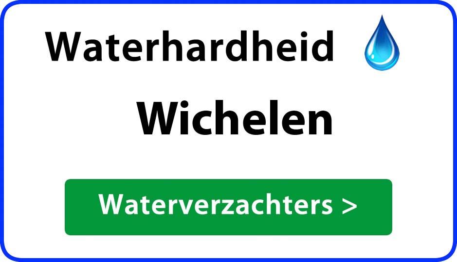 waterhardheid wichelen waterverzachter