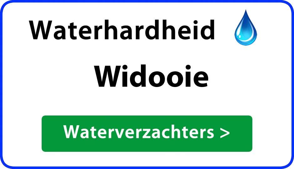 waterhardheid widooie waterverzachter