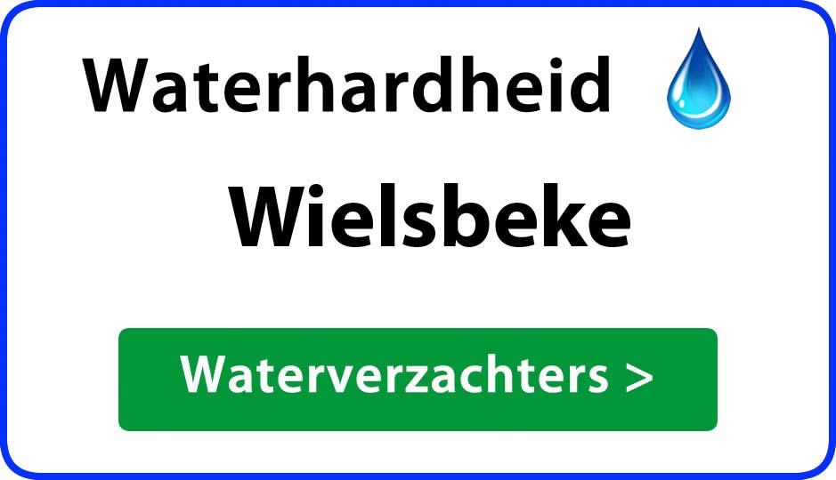 waterhardheid wielsbeke waterverzachter