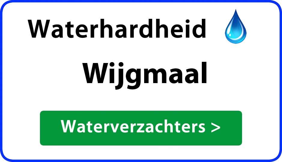 waterhardheid wijgmaal waterverzachter