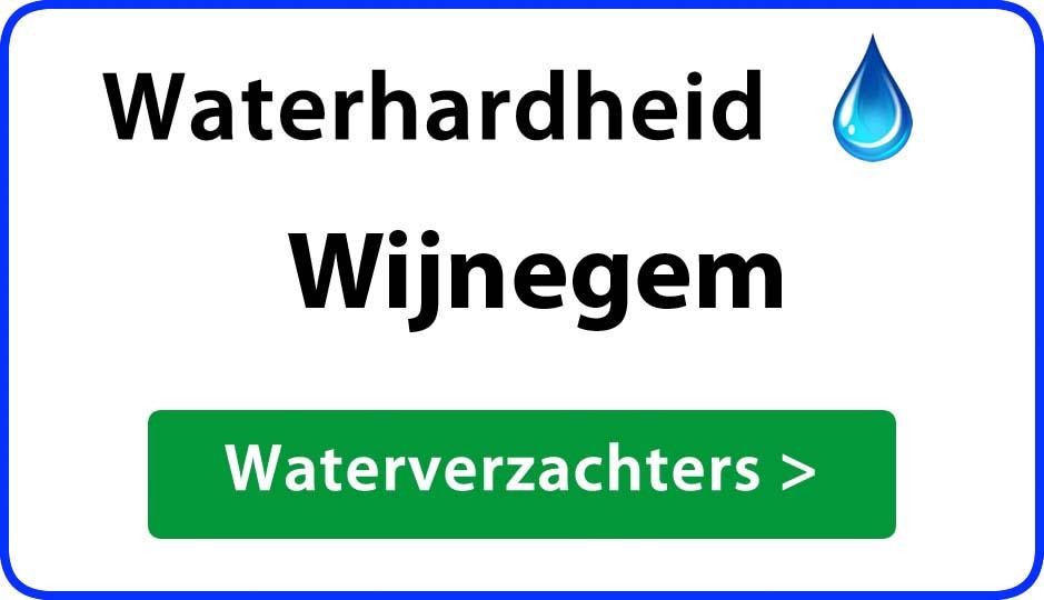 waterhardheid wijnegem waterverzachter
