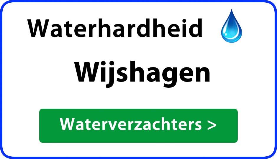 waterhardheid wijshagen waterverzachter