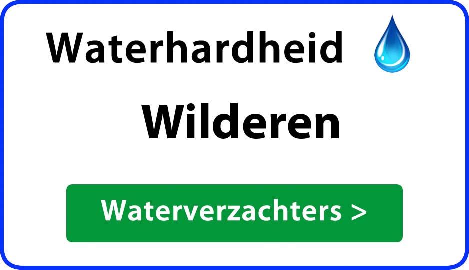 waterhardheid wilderen waterverzachter