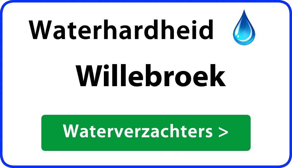 waterhardheid willebroek waterverzachter