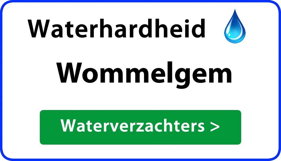waterhardheid wommelgem waterverzachter