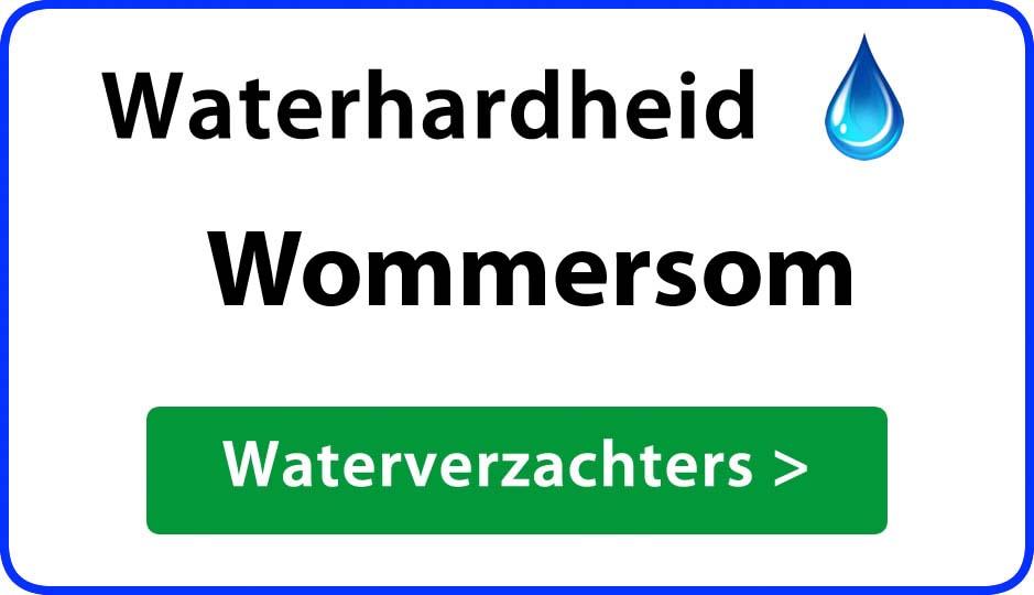 waterhardheid wommersom waterverzachter